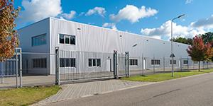 Exterior of a Warehouse Facility